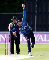 Imran Qayyum bowls for Kent during the Royal London One Day Cup game between Kent and Gloucestershire at the County Ground, Beckenham, on June 3, 2018