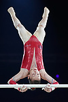 Gymnastics World Cup  23.3.19. World Resorts Arena. Birmingham UK.   Carolann Heduit (FRA) in action