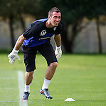 Allan McGregor happy at training