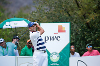 Sergio Garcia (ESP) on the 14th tee during the final round of the Nedbank Golf Challenge hosted by Gary Player,  Gary Player country Club, Sun City, Rustenburg, South Africa. 11/11/2018 <br /> Picture: Golffile | Tyrone Winfield<br /> <br /> <br /> All photo usage must carry mandatory copyright credit (&copy; Golffile | Tyrone Winfield)
