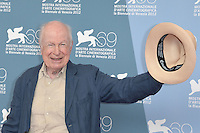 VENICE, ITALY - SEPTEMBER 05: Peter Brook at 'The Tightrope' Photocall during the 69th Venice Film Festival at the Palazzo del Casino on September 5, 2012 in Venice, Italy. &copy;&nbsp;Maria Laura Antonelli/AGF/MediaPunch Inc. ***NO ITALY*** /NortePhoto.com<br />