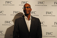 Ed Moses attends the IWC Timeless Portofino Event on December 3, 2014 (Photos by Getner Fabe/Guest Of A Guest)