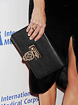 BEVERLY HILLS, CA- OCTOBER 23:  Actress Teri Hatcher (handbag, ring detail) at the International Medical Corps' Annual Awards dinner ceremony at the Beverly Wilshire Four Seasons Hotel on October 23, 2014 in Beverly Hills, California.