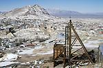 Desert Queen Silver Mine, Mt. Mizpah, Tonopah, Nev.
