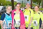 Pictured at the 10K run Summer Solstice in aid of the Irish heart foundation in Tralee on Saturday from left  Leanne McCarthy (Tralee) Grainne NI Gearailt (Kenmare) Noreen Moriarty (Lixnaw) Juilette Byrne (Tralee)