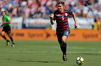 Nashville, TN - Saturday July 08, 2017: Matt Besler during a 2017 Gold Cup match between the men's national teams of the United States (USA) and Panama (PAN) at Nissan Stadium.