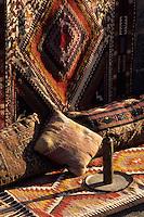 Europe/Turquie/Antalya : Vieille boutique de marchand de tapis - Tapis