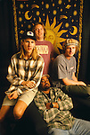 Various portrait sessions of the rock band, Hootie and the Blowfish