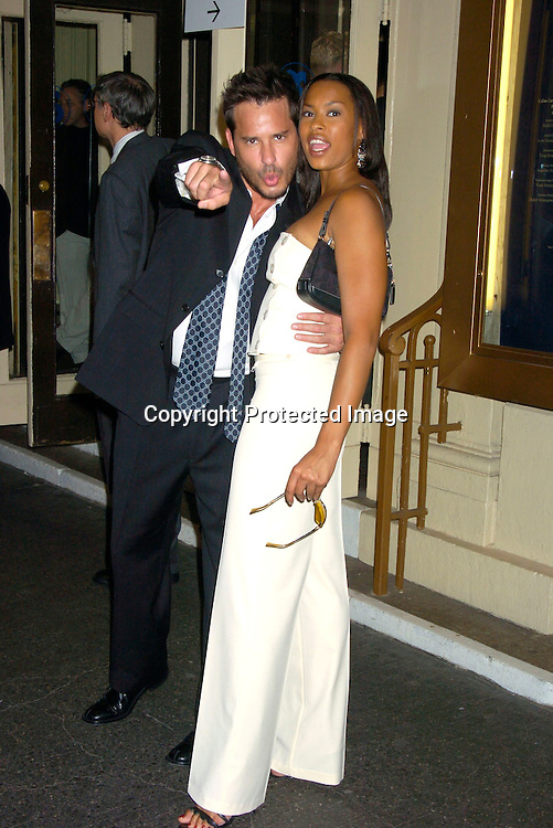 "Ricky Paull Goldin and Kyran Giovanni ..at the Broadway opening  of "" Dracula, The Musical"" on ..August 19, 2004 at The Belasco Theatre in New York City...Photo by Robin Platzer, Twin Images"