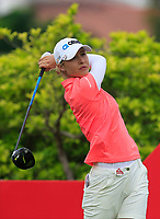 Nelly Korda (USA) in action on the 6th during Round 2 of the HSBC Womens Champions 2018 at Sentosa Golf Club on the Friday 2nd March 2018.<br /> Picture:  Thos Caffrey / www.golffile.ie<br /> <br /> All photo usage must carry mandatory copyright credit (&copy; Golffile | Thos Caffrey)