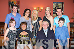 DINNER: Johnny O'Leary celebrated his 71st Birthday in the Imperial Hotel, Tralee on Saturday night with family and friends. Front l-r: Jennifer Lynch, Margaret Byrne, Johnny O'Leary and Bradley Lynch. Back l-r: Tom Lynch, Jacqueline Lynch, Carol O'Leary, Caroline Noone and Pa Lynch..........