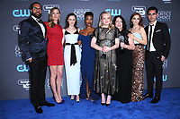 11 January 2018 - Santa Monica, California - Cast of &quot;A Handmaid's Tale&quot;. 23rd Annual Critics' Choice Awards held at Barker Hangar. <br /> CAP/ADM/BT<br /> &copy;BT/ADM/Capital Pictures