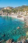 The spectacular bay of Monterosso al Mare, Cinque Terre, Italy