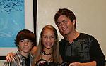 "OLTL's Eddie Alderson ""Matthew Buchanan"", Kristen Alderson ""Star"" and Brandon Buddy ""Cole"" pose at the  One Life To Live Fan Club Luncheon on August 16, 2008 at the New York Marriott Marquis, New York, New York.  (Photo by Sue Coflin/Max Photos)"