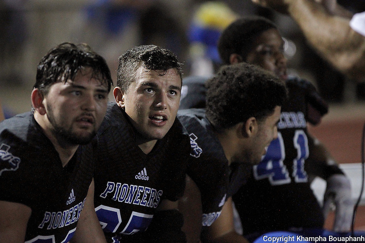 Boswell plays Chisholm Trail in high school football on Friday, October 28, 2016. Boswell won 26-7.