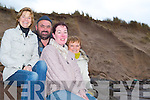 STOP THE EROSION: Locals from Kilshannig, Maharees say something needs to be done to protect the eroding sand dunes in the area. Front l-r were: Denise Boyle, Peter Hennessy, Catherine Goodwin, Eileen McCarthy.