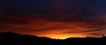 The sunset Saturday, June 18, 2011 in Gardnerville, Nev..Photo by Cathleen Allison