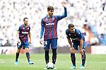 Levante UD's Jorge Miramon, Jose Campana and Enis Bardhi during La Liga match. September 14,2019. (ALTERPHOTOS/Acero)