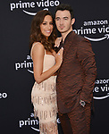 a _Danielle Jonas, Kevin Jonas 009 arrives at the Premiere Of Amazon Prime Video's Chasing Happiness at Regency Bruin Theatre on June 03, 2019 in Los Angeles, California.