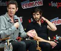 NEW YORK, NY-October 07:Paul Anderson, Eoin Macken at ComicCon 2016: Resident Evil: The Final Chapter panel at Madison Square Garden in New York.October 07, 2016. Credit:RW/MediaPunch