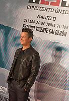 Spanish singer Alejandro Sanz during the presentation of his concert 'Mas es Mas'. May 17, 2017. (ALTERPHOTOS/Garcia) /NortePhoto.com