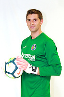Getafe CF's new players Damian Martinez and Vitorino Antunes.
