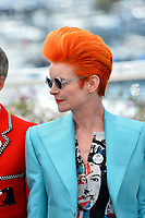 Sandy Powell at the photocall for &quot;How To Talk To Girls At Parties&quot; at the 70th Festival de Cannes, Cannes, France. 21 May 2017<br /> Picture: Paul Smith/Featureflash/SilverHub 0208 004 5359 sales@silverhubmedia.com