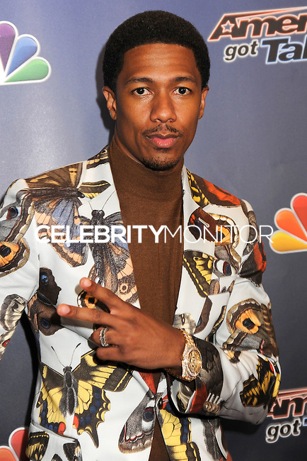NEW YORK CITY, NY, USA - AUGUST 06: Nick Cannon arrives at the 'America's Got Talent' Season 9 Post Show Red Carpet Event held at Radio City Music Hall on August 6, 2014 in New York City, New York, United States. (Photo by Celebrity Monitor)