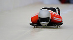 14 December 2007: Markus Penz, racing for Austria, starts his first run at the FIBT World Cup Skeleton Competition at the Olympic Sports Complex on Mount Van Hovenberg, at Lake Placid, New York, USA...Mandatory Photo Credit: Ed Wolfstein Photo