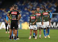 13th June 2020; Stadio San Paolo, Naples, Campania, Italy; Coppa Italia Football, Napoli versus Inter Milan; Lorenzo Insigne of Napoli pre-game warm up