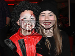 Kyle and Kacey Flanagan pictured at the halloween celebrations at the Laurence Centre. Photo:Colin Bell/pressphotos.ie