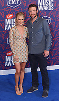 NASHVILLE, TENNESSEE - JUNE 05: Carrie Underwood, Mike Fisher attend the 2019 CMT Music Awards at Bridgestone Arena on June 05, 2019 in Nashville, Tennessee. <br /> CAP/MPI/IS/NC<br /> ©NC/IS/MPI/Capital Pictures