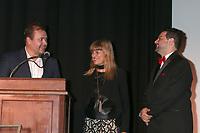 LOS ANGELES - SEP 30:  Theodore Melfi, Catherine Hardwicke, Ron Truppa at the Catalina Film Festival Awards at the Casino on Catalina Island on September 30, 2017 in Avalon, CA