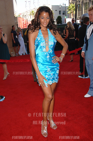 Actress CLAUDIA JORDAN at the 2006 ESPYS Sports Awards at the Kodak Theatre, Hollywood..July 12, 2006  Los Angeles, CA.© 2006 Paul Smith / Featureflash