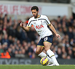 Tottenham's Mousa Dembele in action<br /> <br /> Barclays Premier League - Tottenham Hotspur  vs West Ham  - White Hart Lane - England - 22nd February 2015 - Picture David Klein/Sportimage
