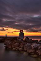 Old lighthouse, Islamorada, Florida