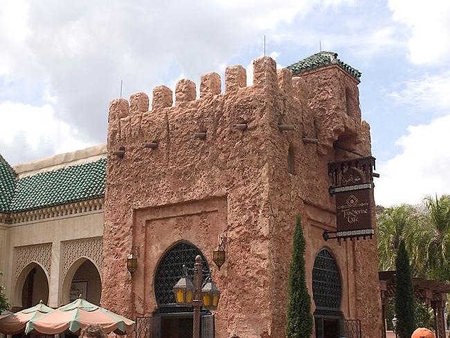 Shopping, Morocco Pavillion, Epcot, Orlando, Florida