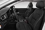 Front seat view of a 2018 KIA Niro Plug-in Hybrid Sense 5 Door SUV front seat car photos