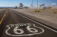 Route 66 in Amboy California.