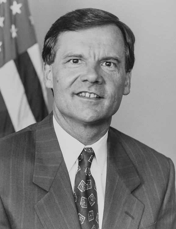 Sen. Tim Hutchinson, R-Ark., in 1994. (Photo by CQ Roll Call via Getty Images)