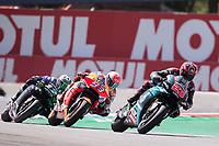 FABIO QUARTARARO - FRENCH - PETRONAS YAMAHA SRT - YAMAHA<br /> MARC MARQUEZ - SPANISH - REPSOL HONDA TEAM - HONDA<br /> MAVERICK VINALES - SPANISH - MONSTER ENERGY YAMAHA MotoGP - YAMAHA<br /> Assen 30/06/2019  <br /> Moto Gp Paesi Bassi Olanda 2019 <br /> Foto Vincent Guignet / Panoramic / Insidefoto