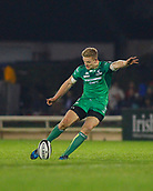 4th November 2017, Galway Sportsground, Galway, Ireland; Guinness Pro14 rugby, Connacht versus Cheetahs; Steve Crosbie  with a penalty for Connacht