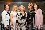 Maeve Neelan, Elaine Henneberry, Noreen Landers, Eileen McNamara and Helen Costello enjoying a girls night out at No.4 the Square Tralee on saturday