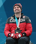 Pyeongchang, Korea, 17/3/2018-Mark Ideson competes in the bronze medal game of wheelchair curling during the 2018 Paralympic Games. Photo: Scott Grant/Canadian Paralympic Committee.