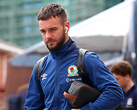 Blackburn Rovers' Adam Armstrong arrives at the ground<br /> <br /> Photographer David Shipman/CameraSport<br /> <br /> The EFL Sky Bet Championship - Nottingham Forest v Blackburn Rovers - Saturday 13th April 2019 - The City Ground - Nottingham<br /> <br /> World Copyright © 2019 CameraSport. All rights reserved. 43 Linden Ave. Countesthorpe. Leicester. England. LE8 5PG - Tel: +44 (0) 116 277 4147 - admin@camerasport.com - www.camerasport.com