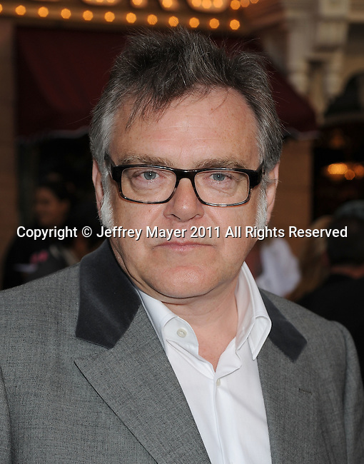 """ANAHEIM, CA - MAY 07: Kevin McNally arrives to the """"Pirates Of The Caribbean: On Stranger Tides"""" World Premiere at Disneyland on May 7, 2011 in Anaheim, California."""