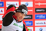 Dario Cologna during the FIS Ski World Cup Men' 15 Km Individual Classic, on February 1, 2014 in Dobbiaco, Toblach. <br /> <br /> &copy; Pierre Teyssot