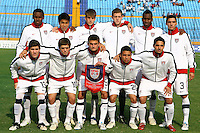 USA Under 20 Starting Eleven. USA Men's Under 20 defeated Panama 2-0 at Estadio Mateo Flores in Guatemala City, Guatemala on April 2nd, 2011.