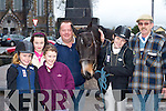 FUN: Having fun at the hunt in Killorglin on Sunday were l-r: Roisin Clifford, Jessica O'Leary, Aoife McSweeney, Tim Clifford, Sasha Edwards and Bill Edwards, all Killarney    Copyright Kerry's Eye 2008