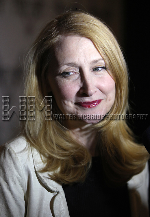 Patricia Clarkson.attending the Opening Night Performance of Nicky Silver's 'The Lyons' at the Vineyard Theatre in New York City.